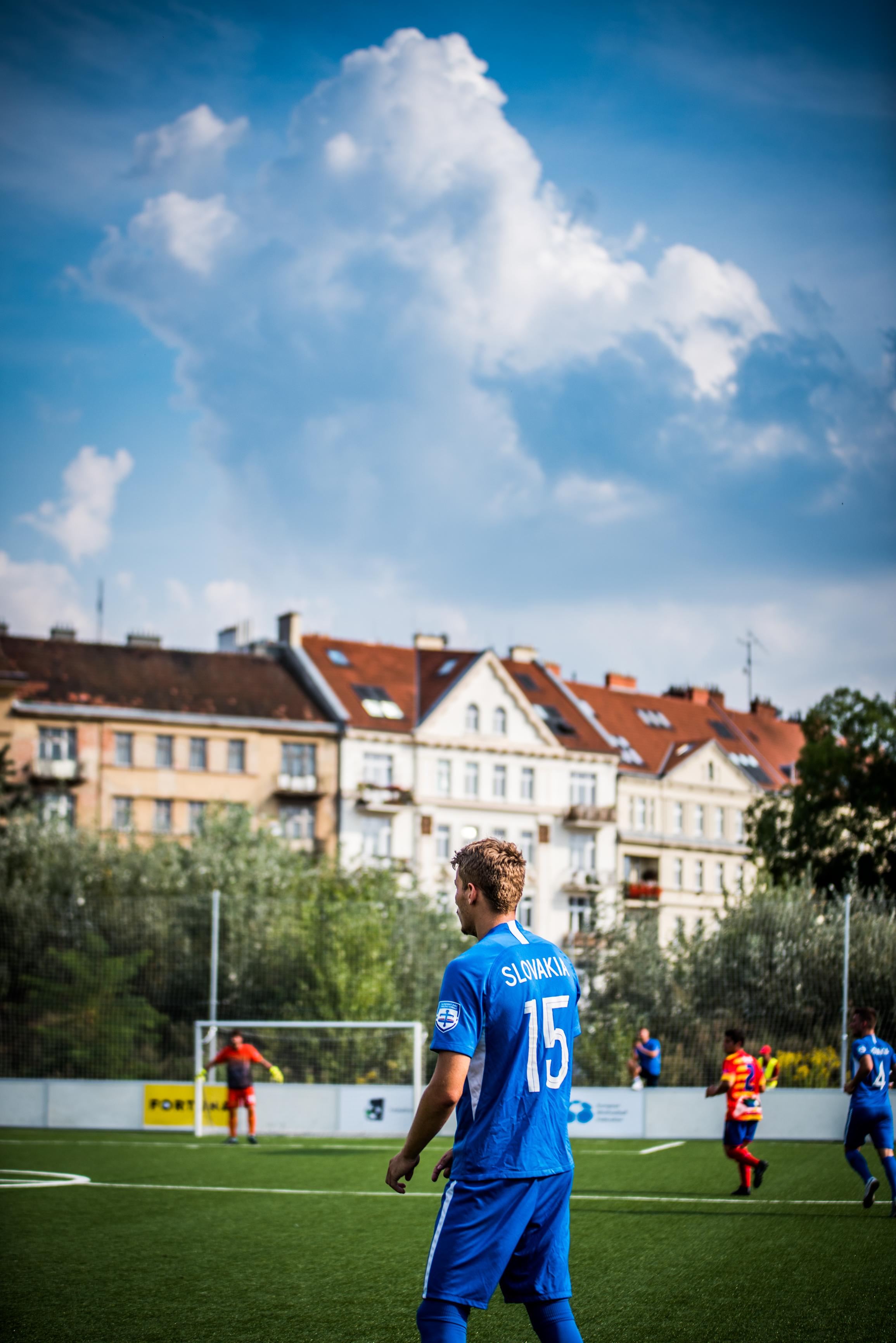 Cesko vs Slovensko maly futbal