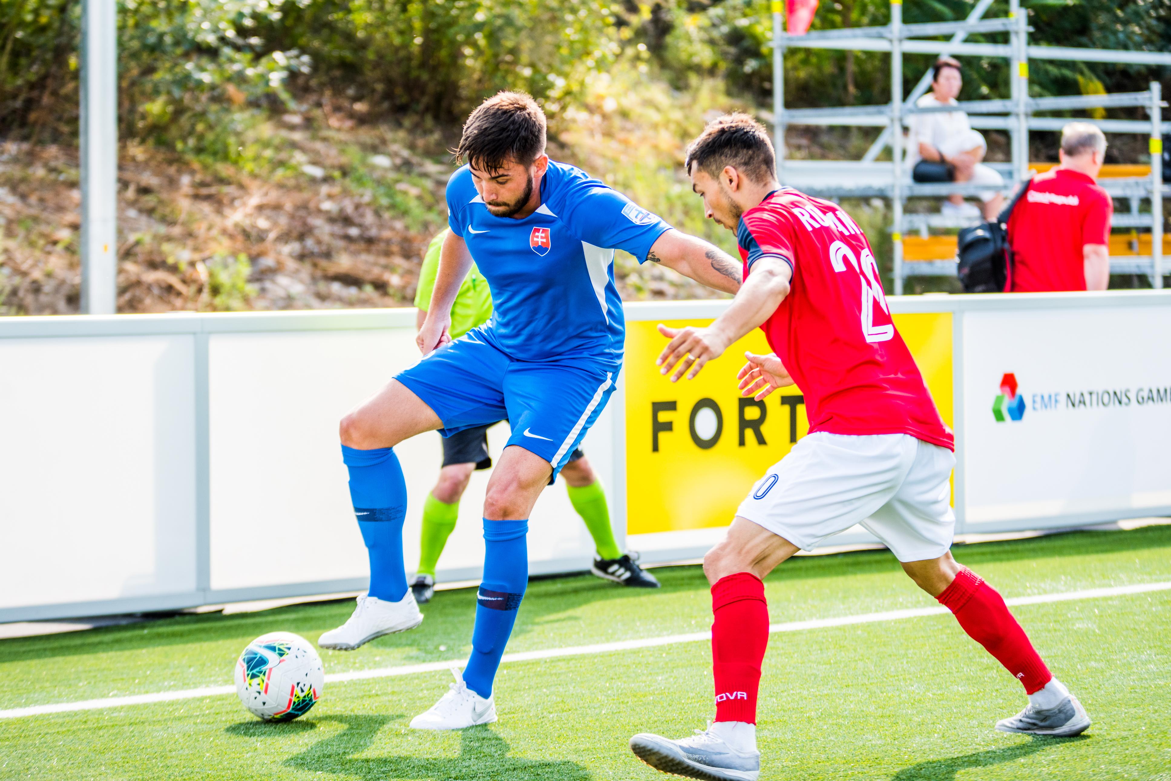 Dusan Dzibela maly futbal